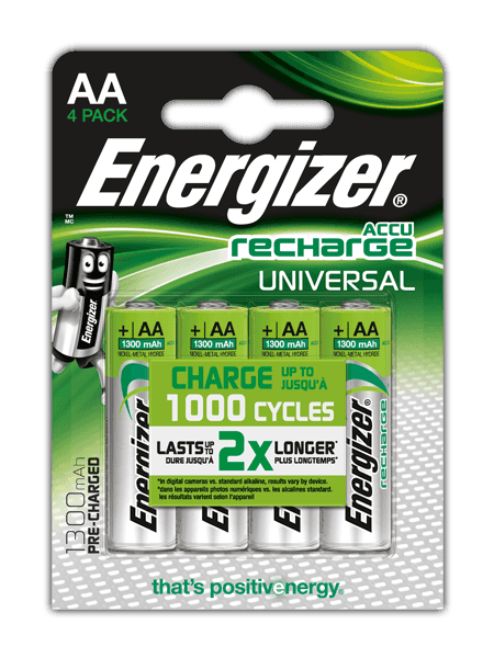 Energizer® Herladen Universeel- AA