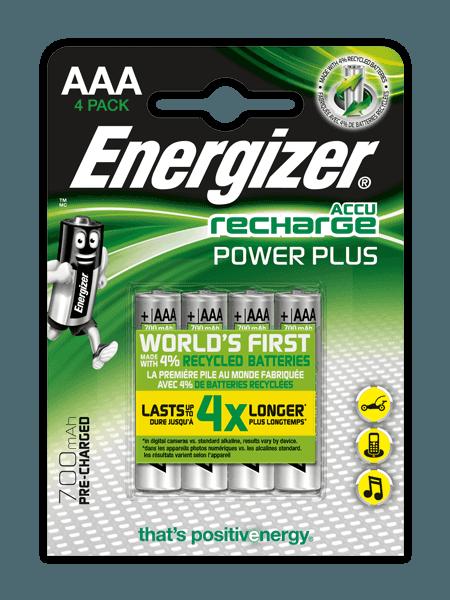 Energizer® Herladen Macht Plus  – AAA