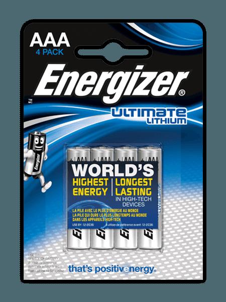 Energizer® Ultiem Lithium – AAA