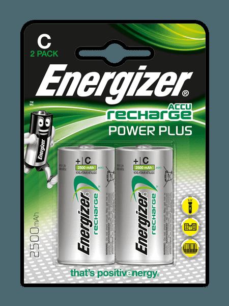 Energizer® Herladen Macht Plus – C