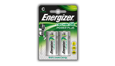 Energizer® Herladen Macht Plus - C
