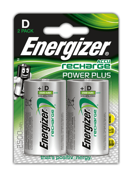 Energizer® Herladen Macht Plus – D