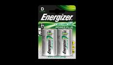Energizer® Herladen Macht Plus - D