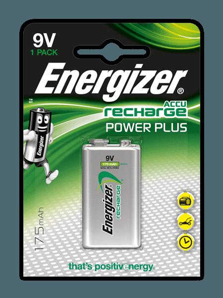 Energizer® Herladen Macht Plus – 9V