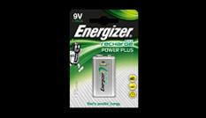 Energizer® Herladen Macht Plus - 9V