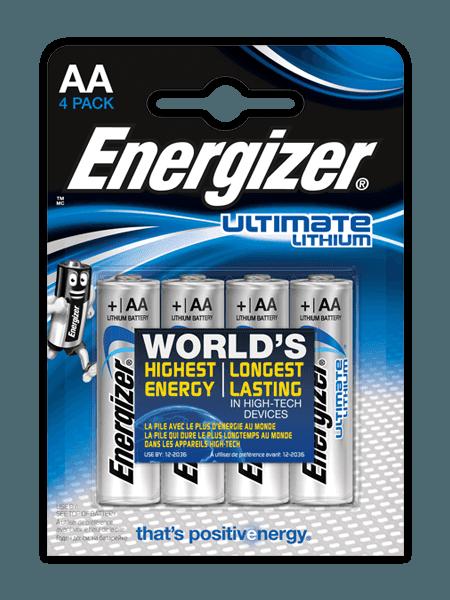 Energizer® Ultimate Lithium Batterien – AA