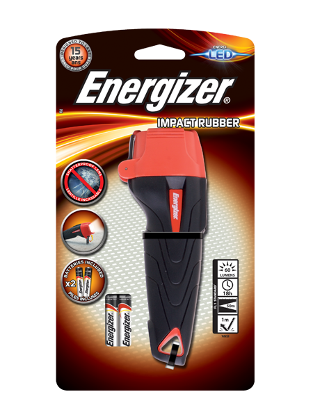 Energizer® Impact Rubber 2AAA