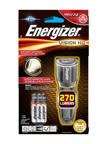 ENERGIZER®METAL VISION HD 3AAA