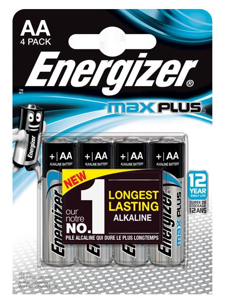 ENERGIZER ® MAX PLUS ™ – AA