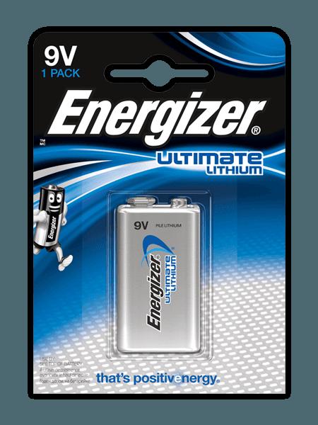 Energizer® Ultimate Lithium – 9V
