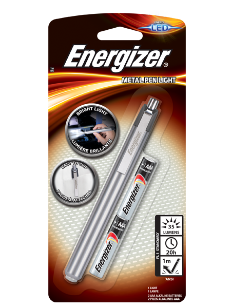Energizer<sup>®</sup> Metal Penlight