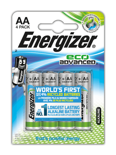 Energizer® EcoAdvanced™ – AA