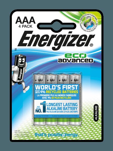 Energizer® EcoAdvanced™ – AAA