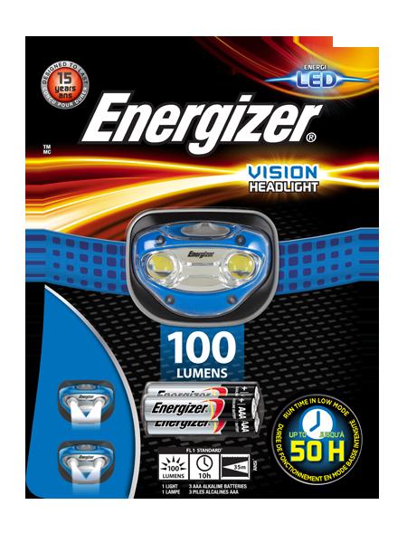 Energizer<sup>®</sup> Vision headlight
