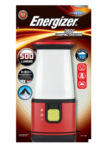 ENERGIZER® CAMPING LANTERN
