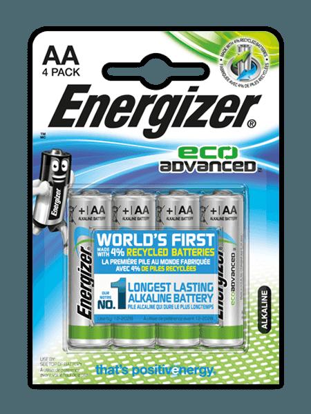 Energizer<sup>&reg;</sup> EcoAdvanced™ &#8211; AA