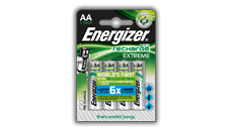 Energizer<sup>&reg;</sup> Recharge Extreme - AA