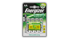 Energizer<sup>&reg;</sup> Recharge Power Plus - AA