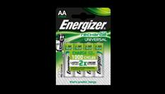 Energizer<sup>&reg;</sup> Recharge Universal - AA