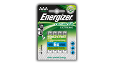 Energizer<sup>&reg;</sup> Recharge Extreme - AAA