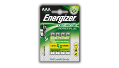 Energizer<sup>&reg;</sup> Recharge Power Plus - AAA