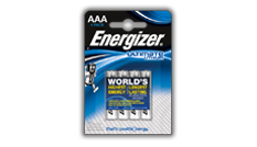 Energizer<sup>®</sup> Ultimate Lithium - AAA