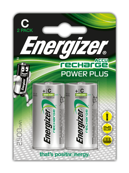 Energizer<sup>®</sup> Recharge Power Plus – C
