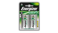 Energizer<sup>&reg;</sup> Recharge Power Plus - D