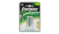 Energizer<sup>&reg;</sup> Recharge Power Plus - 9V