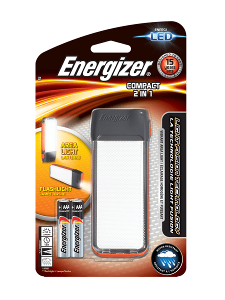 Energizer<sup>&reg;</sup> Fusion Compact 2 in 1