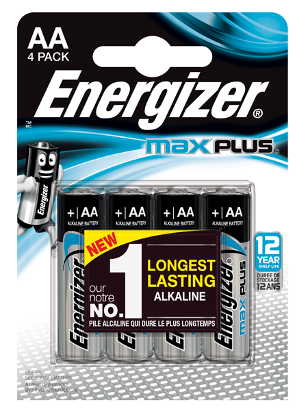 ENERGIZER ® MAX PLUS ™ – AA