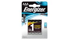 ENERGIZER ® MAX PLUS ™ - AAA