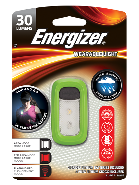 Energizer Wearable light